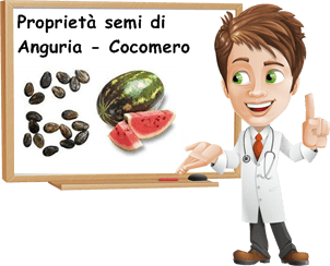 Proprietà semi di anguria cocomero