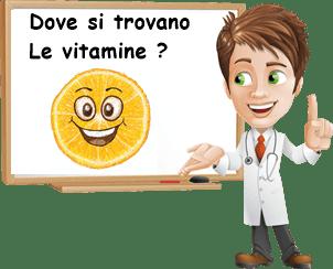 dove si trovano le vitamine