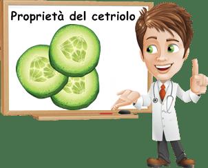 proprietà cetriolo