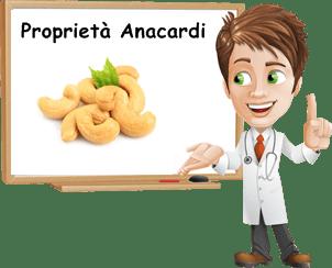 Proprietà Anacardi