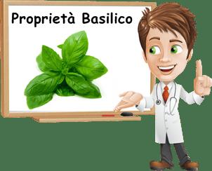 Proprietà Basilico