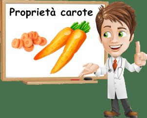 Proprietà carote