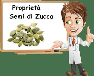 Proprietà semi di zucca