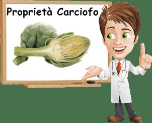 Proprietà Carciofo