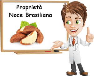 Proprietà noci brasiliane