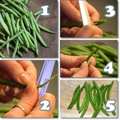 Come pulire i fagiolini verdi
