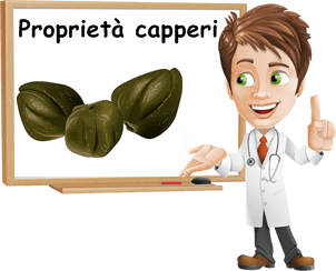 Proprietà capperi