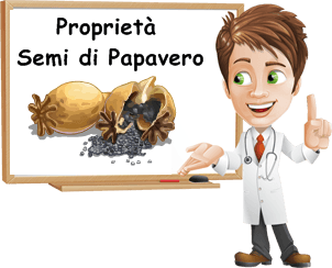 Proprietà semi di papavero