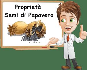 Proprietà semi di papavero