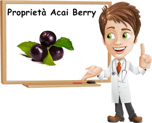 Proprietà Acai berry