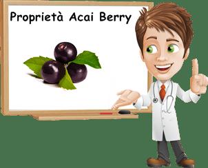 Proprietà Acai berry