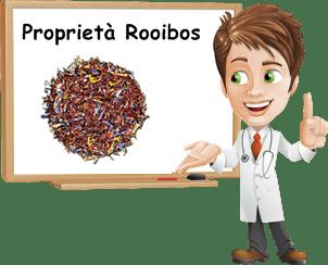 Proprietà Rooibos