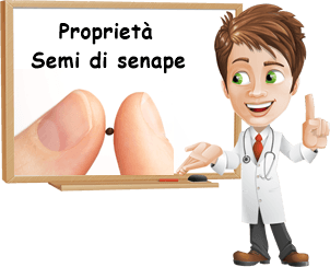 Proprietà semi di senape