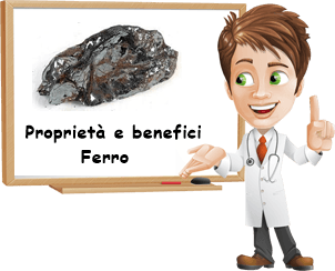 Proprietà e benefici Ferro