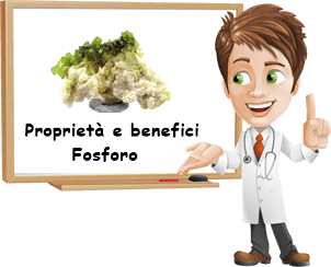 Proprietà e benefici Fosforo
