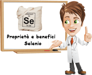 Proprietà e Benefici Selenio