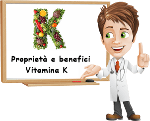 Proprietà e benefici Vitamina K