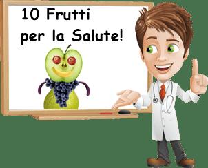 10 frutti per la salute