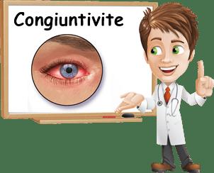 Congiuntivite cause