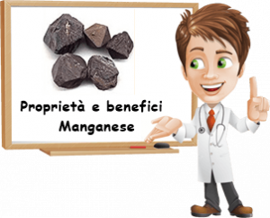 Proprietà e benefici Manganese