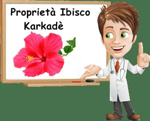 Proprietà Ibisco Karkadè