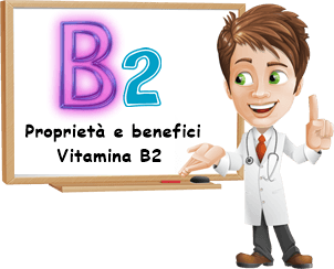Proprietà e benefici Vitamina B2