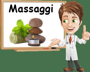 Proprietà dei massaggi