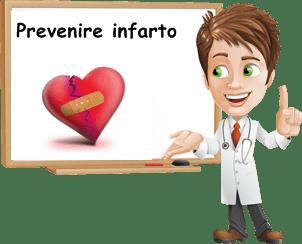 prevenire infarto