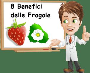 Benefici Fragole