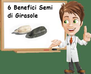 6 benefici dei semi di girasole