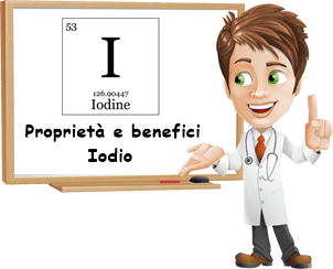 Proprietà e benefici Iodio