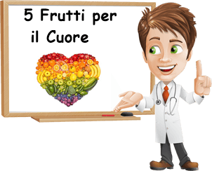 5 frutti per il cuore