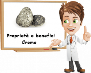 Proprietà e benefici Cromo