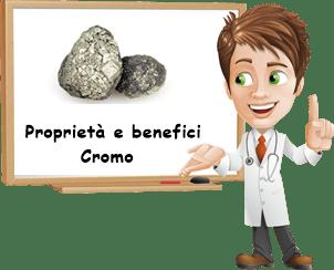 Proprietà e benefici Cromo