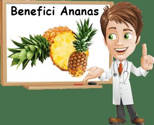 benefici ananas