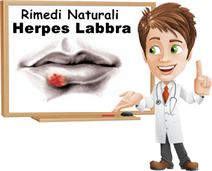 Herpes labbra