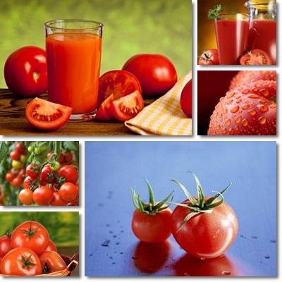 Pomodoro e pelle