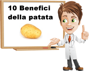 benefici patata