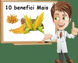benefici mais