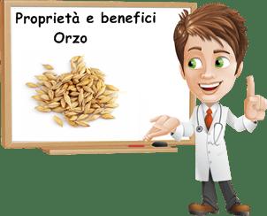 Proprietà Orzo