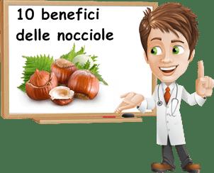 benefici nocciole