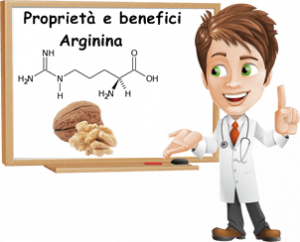 Proprietà e benefici arginina