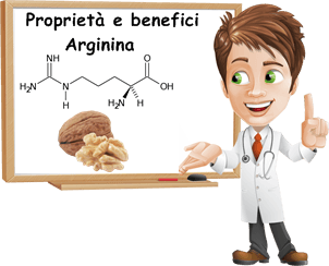 benefici arginina