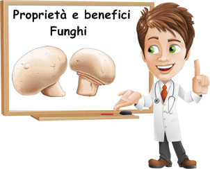 benefici funghi
