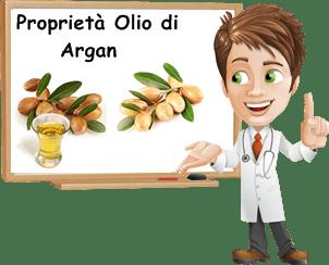 Proprietà olio di argan
