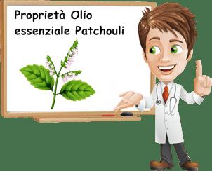 Proprietà olio essenziale patchouli
