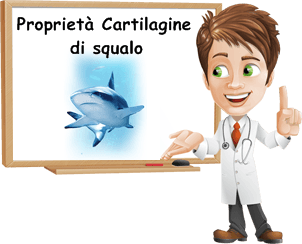Proprietà cartilagine di squalo