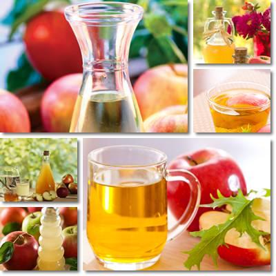 Acqua e aceto di mele a digiuno