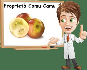 Proprietà Camu Camu
