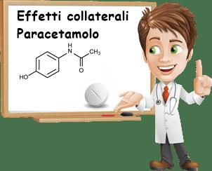 Effetti collaterali paracetamolo